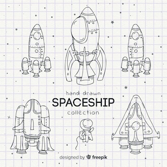 Collection of lineal spaceships