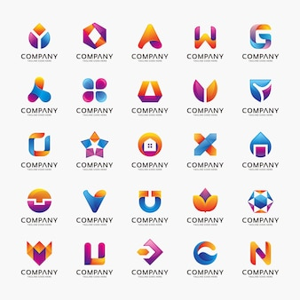 Collection of logo designs