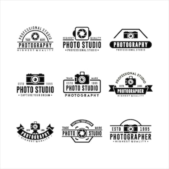 Collection of logo templates
