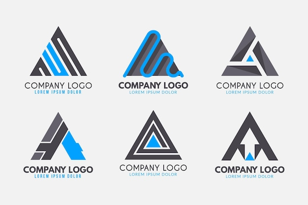 Collection of a logo templates