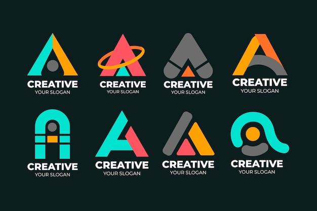 Collection of a logo templates