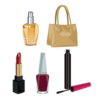 Коллекция макияжа аксессуары мода