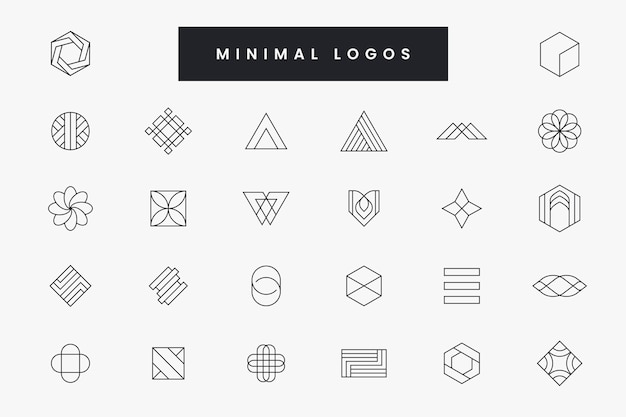 Collection of minimal logo
