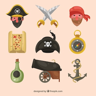 Collection of nice pirates and other items