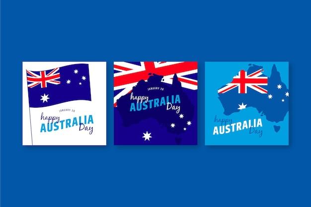 호주의 날 인사말 카드 모음