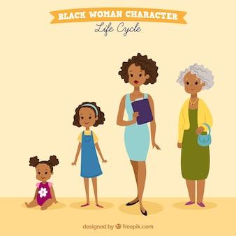 黒の女性のコレクション
