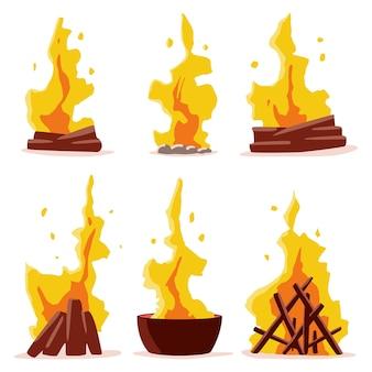 焚き火のコレクション