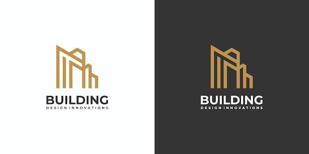 建物のロゴアーキテクチャのコレクション