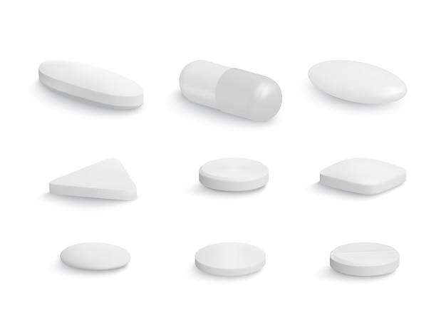 Сборник таблеток капсульной формы
