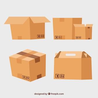 ダンボール箱の収集から出荷まで