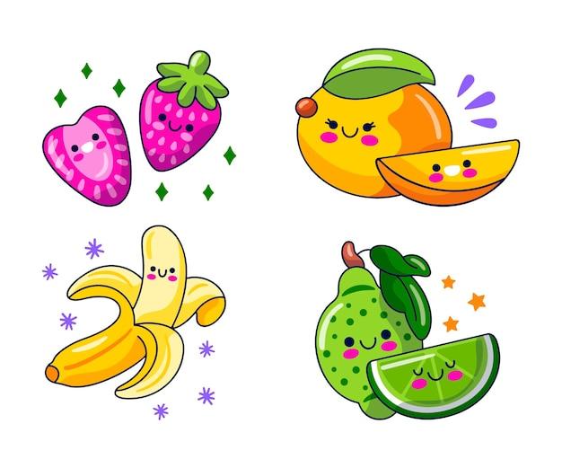 만화 음식 캐릭터 모음