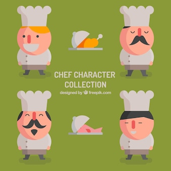 요리사 캐릭터의 컬렉션