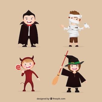 할로윈 축하 의상 어린이의 컬렉션