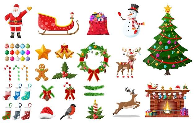 Коллекция рождественских украшений