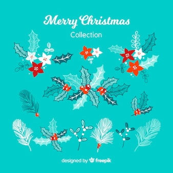Collection of christmas elements