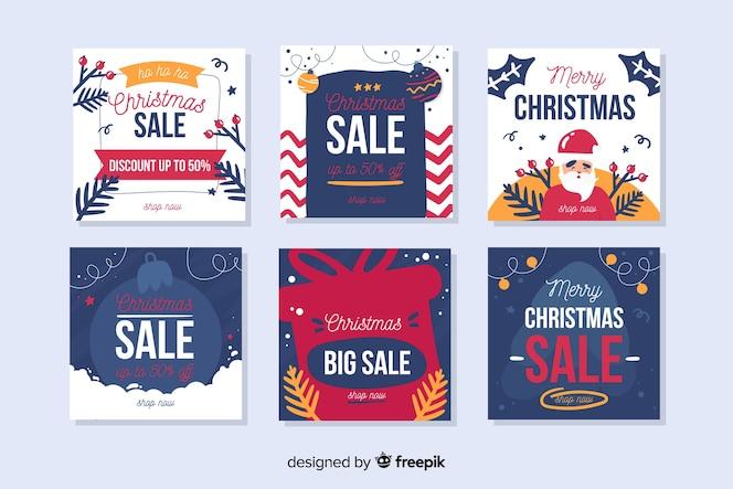 크리스마스 판매 instagram 게시물 모음