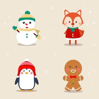 Коллекция рождественских тематических иконок