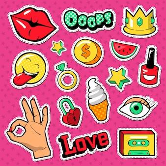 다채로운 스티커 컬렉션