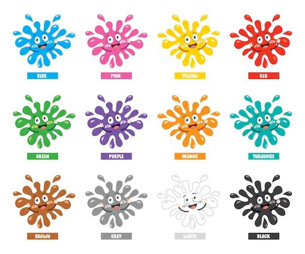 Коллекция цветов для детей образование
