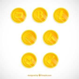 暗号化コインの収集