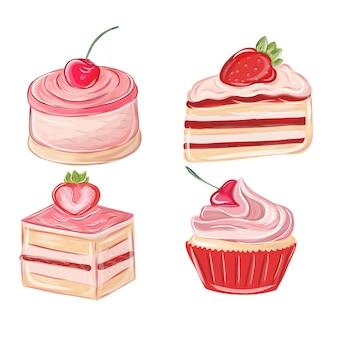 Коллекция десертов