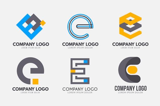 Коллекция различных электронных логотипов