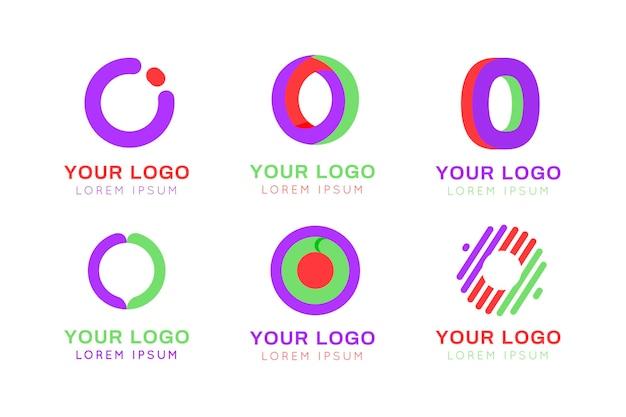 さまざまなoロゴのコレクション