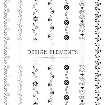 分周器設計要素ベクトルのコレクション
