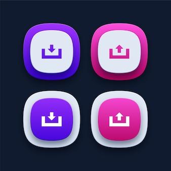 Коллекция иконок для скачивания и загрузки