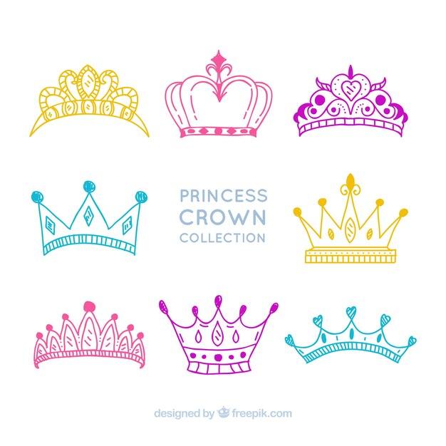 princess crown vectors photos and psd files free download rh freepik com princess crown vector free princess crown vector illustration free