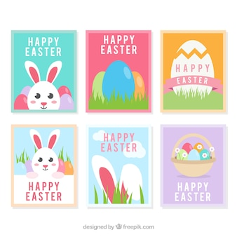 Collection of easter cards