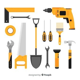 플랫 건설 장비의 수집