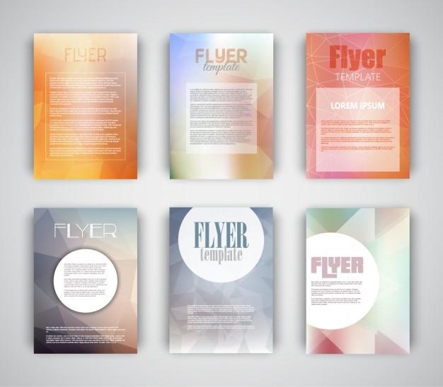 Коллекция шаблона бизнес-летающих пассажиров