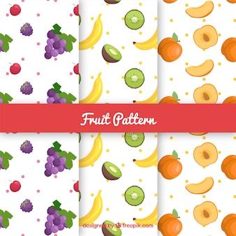 Коллекция фруктовых узоров