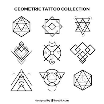 Коллекция геометрической татуировки