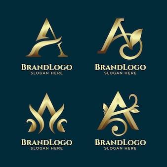 Коллекция градиентных логотипов