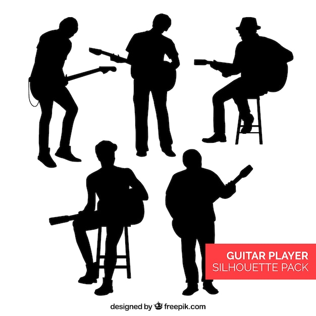 musician silhouette vectors photos and psd files free download rh freepik com silhouette vector files free silhouette vector images