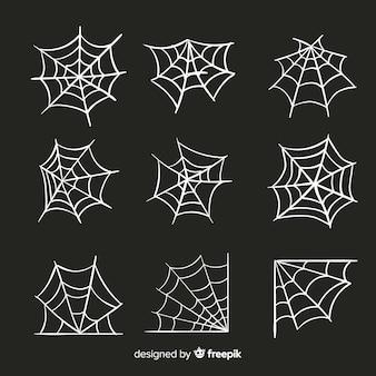 할로윈 거미줄의 컬렉션