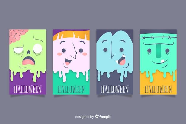 Сборник хэллоуинских инстаграм историй