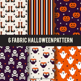 할로윈 패턴의 컬렉션