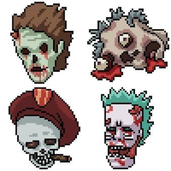 Коллекция ужасов пиксель-арт