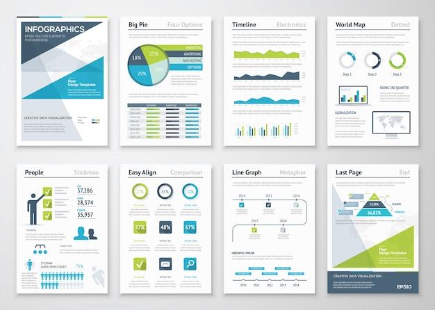 情報要素とビジネスパンフレットの収集