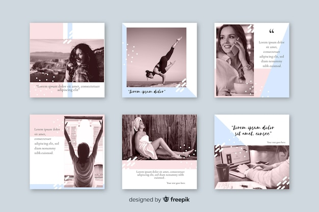 Instagramの投稿のコレクション
