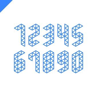 아이소 메트릭 스포츠 숫자의 컬렉션