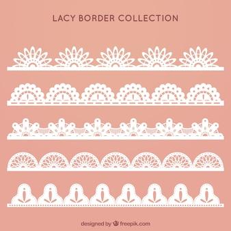 レースの国境のコレクション