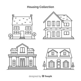 直系住宅の収集
