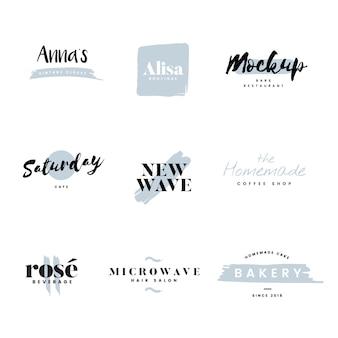 ロゴとブランディングベクターのコレクション