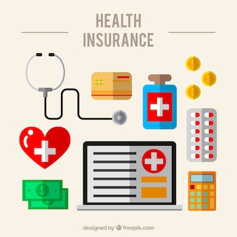 平面設計における医療要素の収集