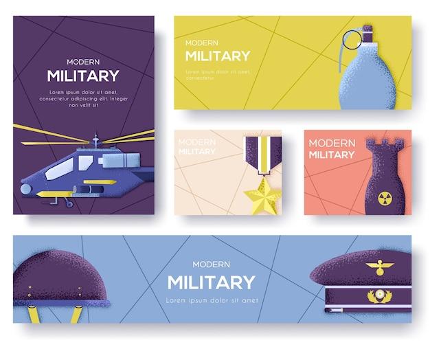 軍事機器チラシのコレクション