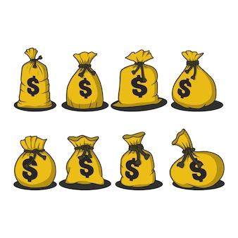 Сбор денежных мешков